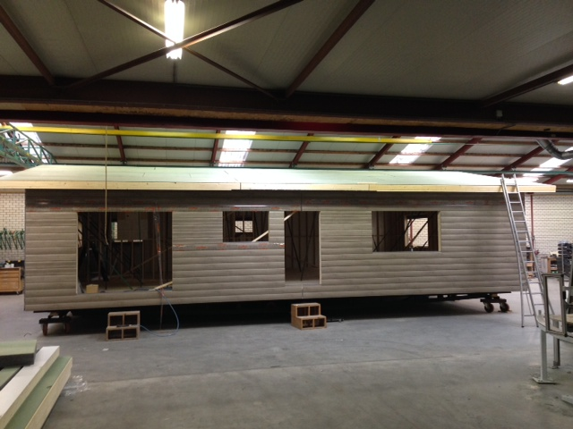 Aus der Produktion - Dachkonstruktion