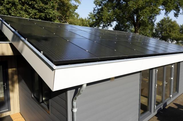 Mobilheim EcoSun Sonderausstattung Solaranlage