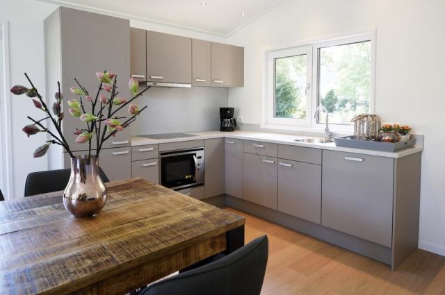 Mobilheim EcoSun mit hochwertiger Küche